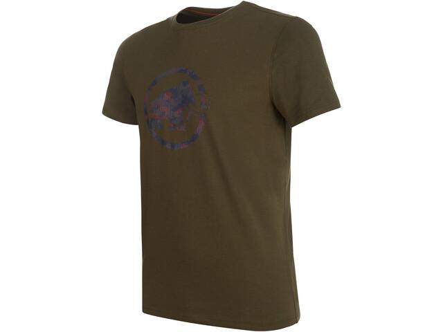Mammut Logo T-shirt Herrer, iguana PRT1